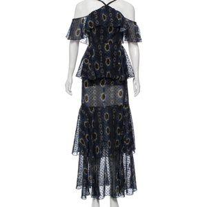 Cynthia Rowley Silk Maxi Dress
